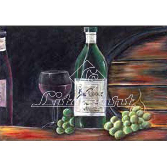 Papel Decoupage Arte Francesa Taça e Vinho LF-120 - Litocart