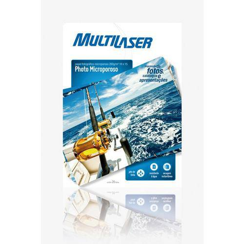 Papel Especial Fotográfico Microporos A6 10x15 - Multilaser