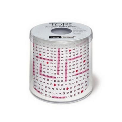 Papel Higiênico Estampado Puzzle Folha Tripla 23m Paper+Design