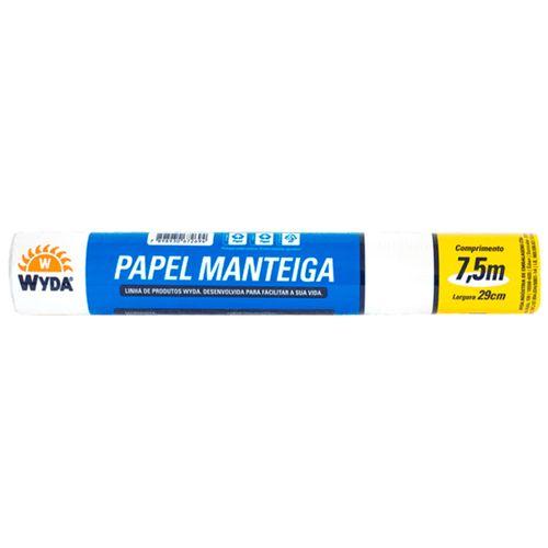 Papel Manteiga 7,5mx29cm Wyda 1002681