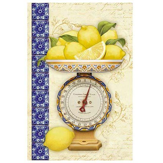 Papel para Arte Francesa Litoarte 31,1x21,1 AF-318 Limões