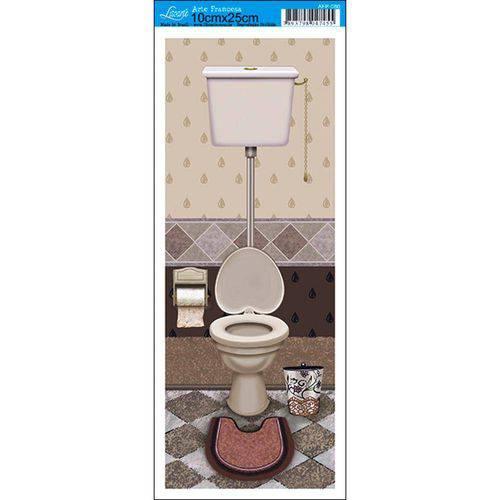 Papel para Arte Francesa Litoarte 10 X 25 Cm - Modelo Afp-080 Banheiro