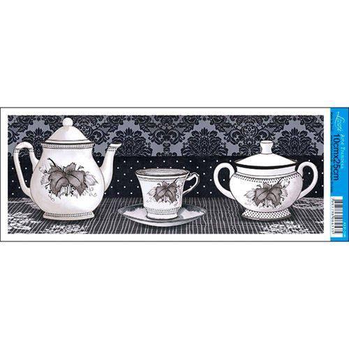 Papel para Arte Francesa Litoarte 10 X 25 Cm - Modelo Afp-096 Chá Pb