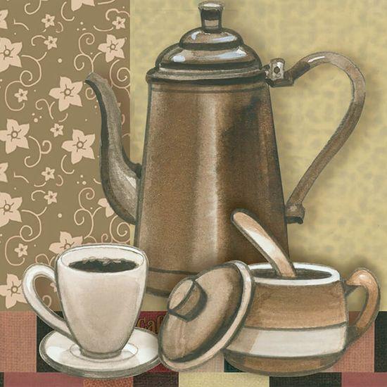 Papel para Arte Francesa Litoarte 10x10 AFX-387 Café