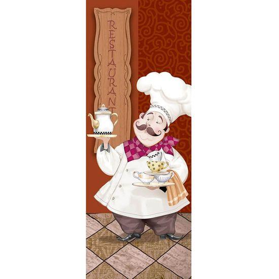 Papel para Arte Francesa Litoarte 25x10 AFP-167 Cozinheiro