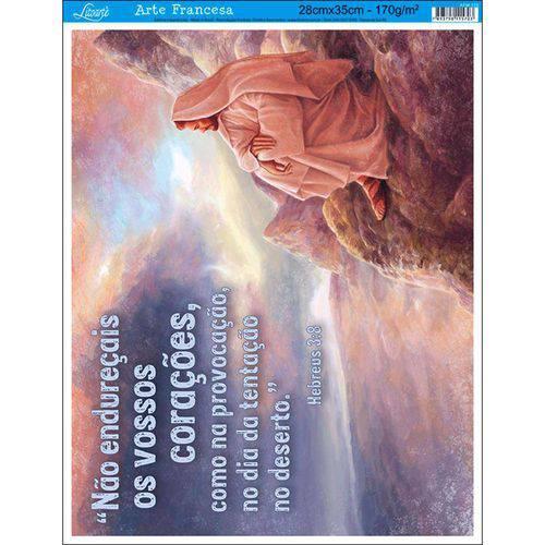 Papel para Arte Francesa Litoarte 28 X 35 Cm - Modelo Afm-105 Jesus na Montanha