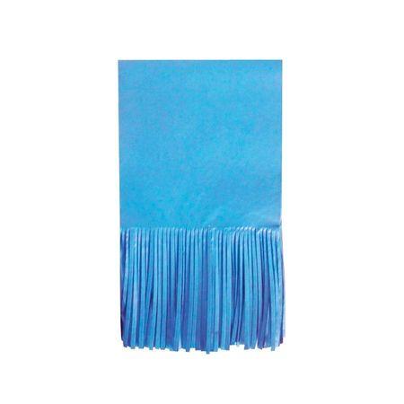 Papel para Balas com Franja Azul Claro - 48 Unidades