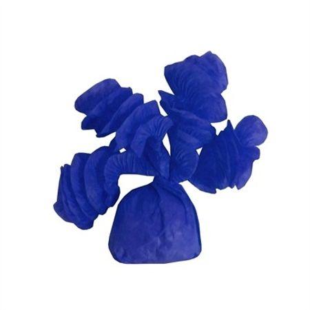 Papel para Balas Rococó Azul Escuro - 40 Unidades
