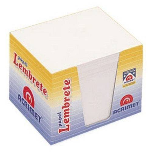 Papel para Lembrete Branco com 750 Fls Acrimet