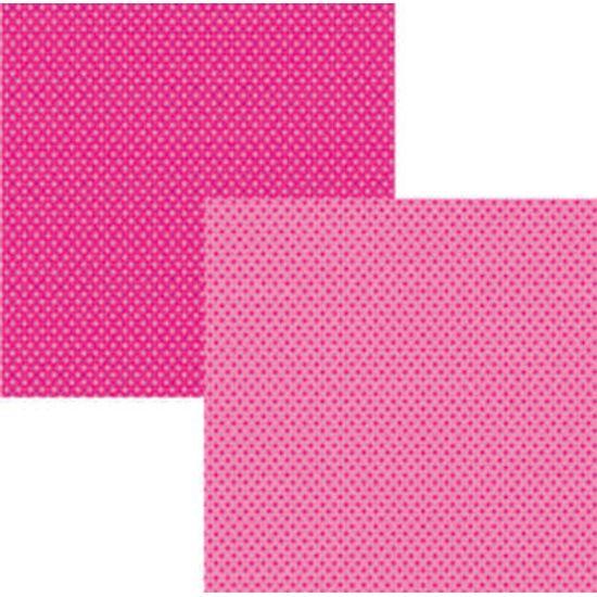 Papel Scrap Basico Pink Poa KFSB56 - Toke e Crie By Ivana Madi