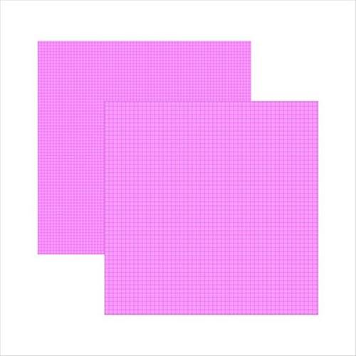 Papel Scrap DF Pink Xadrez Duplo KFSB280 - Toke e Crie By Ivana Madi