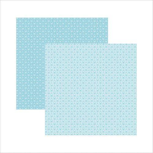 Papel Scrapbook Básico Azul Bebê Estrelas Kfsb353 - Toke e Crie By Ivana Madi