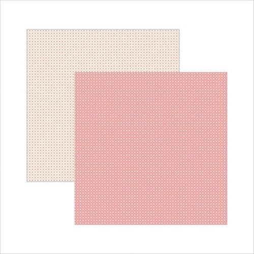 Papel Scrapbook Classico Texturizado Rosa Xadrez Ksbc013 - Toke e Crie By Ivana Madi