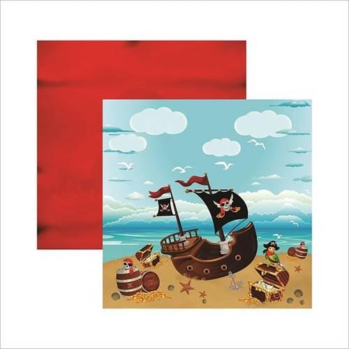 Papel Scrapbook Coleções Piratas Paisagem Sdf514 - Toke e Crie By Ivana Madi