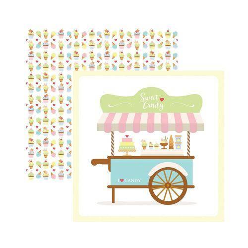 Papel Scrapbook DF - SDF657 - Sweet Candy Guirlanda