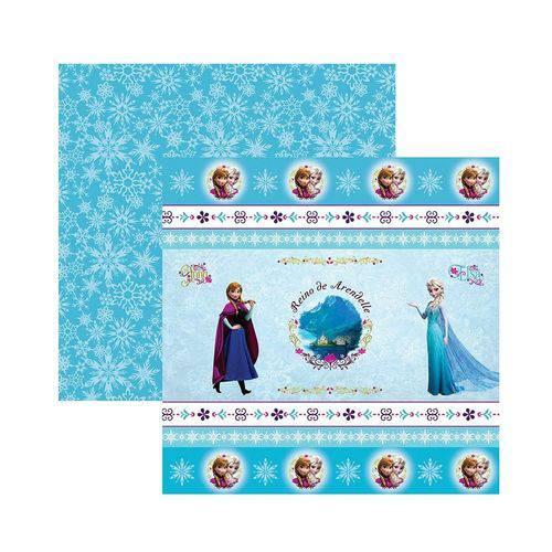 Papel Scrapbook DF - SDFD043 - Frozen 1 Fitas e Rótulos