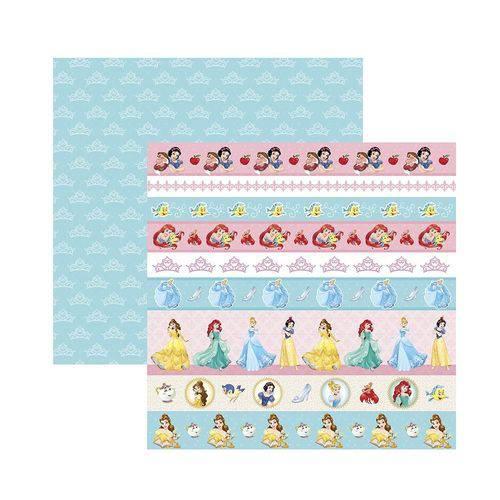 Papel Scrapbook DF - SDFD055 - Princesa 2 Faixas