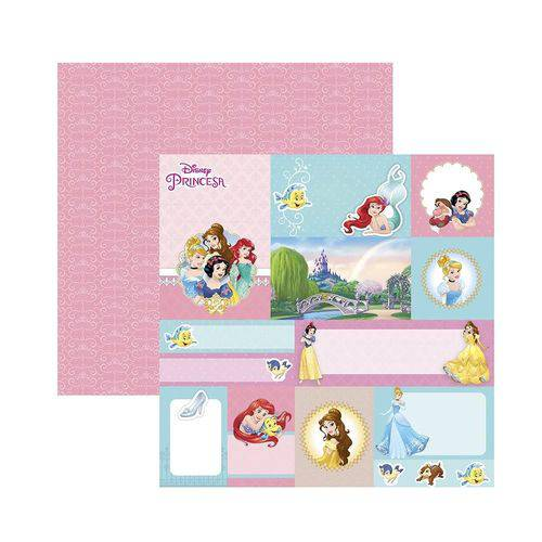 Papel Scrapbook DF - SDFD056 - Baby Minnie 1 Tags