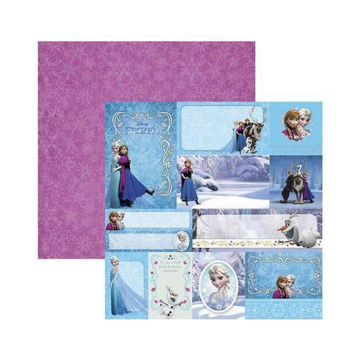 Papel Scrapbook DF - SDFD102 - Frozen 2 Tags - Toke e Crie