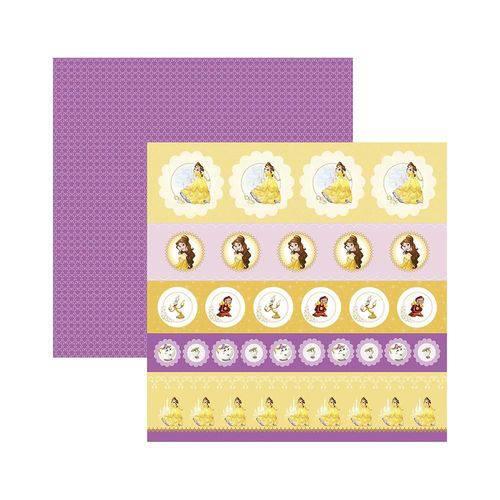 Papel Scrapbook DF - SDFD67 - Bela 1 Selos e Tags - Toke e Crie