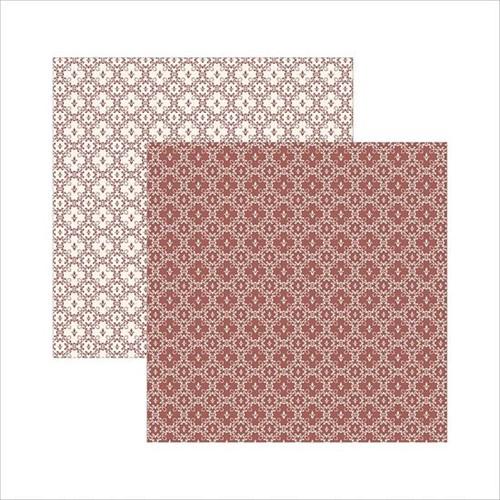 Papel Scrapbook Dupla Face Clássico Texturizado Marrom Nobre Ksbc012 - Toke e Crie By Ivana Madi