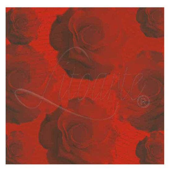 Papel Scrapbook Litoarte 30,5x30,5 SS-011 Rosas
