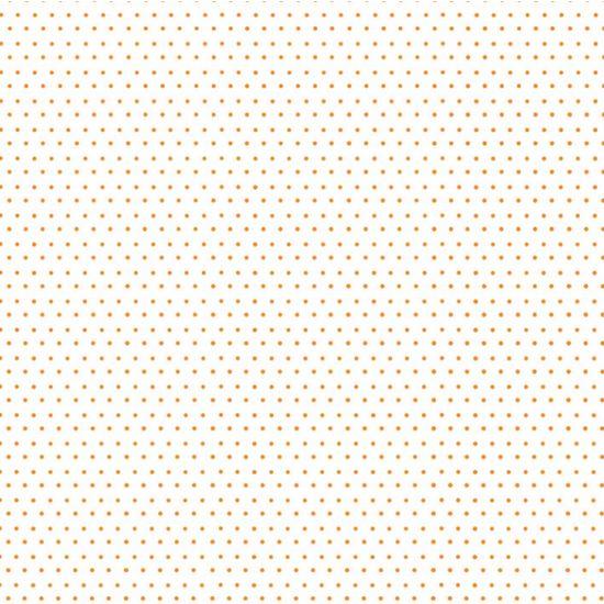 Papel Scrapbook Litocart 30,5x30,5 LSC-166 Poá Laranja e Branco