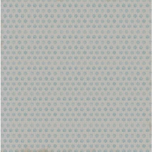 Papel Scrapbook Simples Vintage Turquesa Poá Kfs080 Toke e Crie