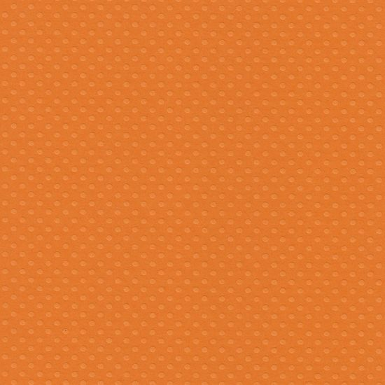 Papel Scrapbook Toke e Crie PCAR497 Dupla Face 30,5x30,5cm Cardstock Texturizado Bolinhas Laranja