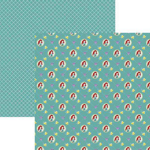 Papel Scrapbook Toke e Crie Sbd16 30,5x30,5cm Princesas Ariel