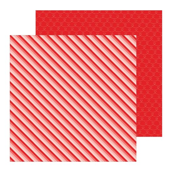 Papel Scrapbook WER309 30,5x30,5 Pebbles Listras