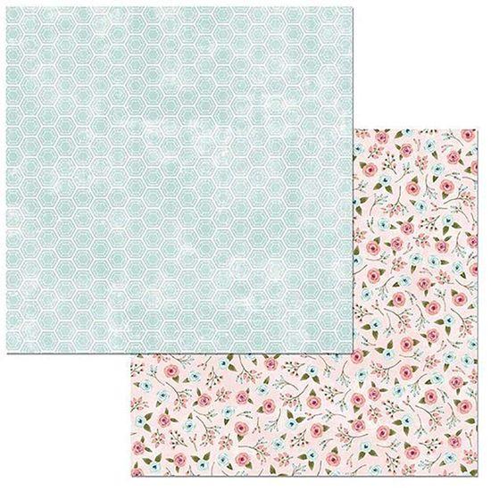 Papel Scrapbook WER096 30,5x30,5 Bo Bunny Fantástico