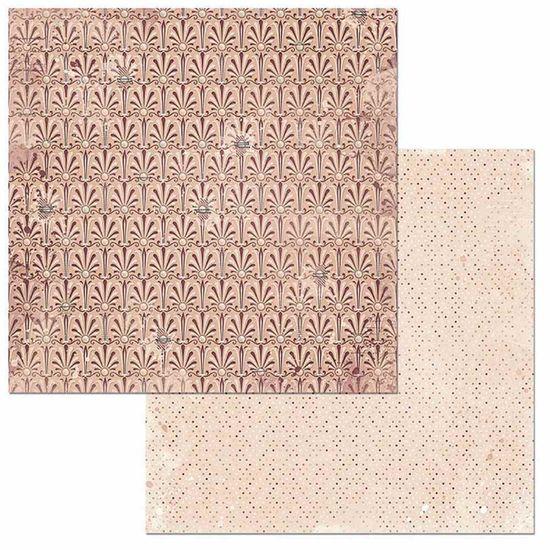 Papel Scrapbook WER120 30,5x30,5 Bo Bunny Modesto