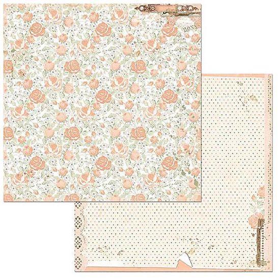 Papel Scrapbook WER106 30,5x30,5 Bo Bunny Descobertas