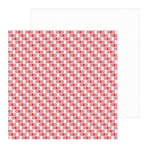 Papel Scrapbook WER311 30,5x30,5 Pebbles Básico