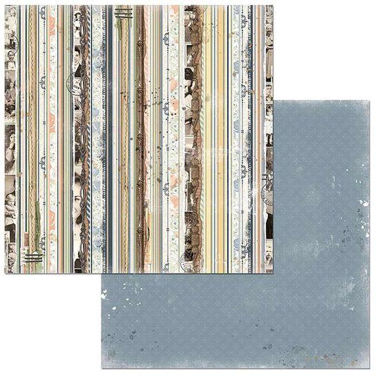 Papel Scrapbook WER114 30,5x30,5 Bo Bunny Parentes