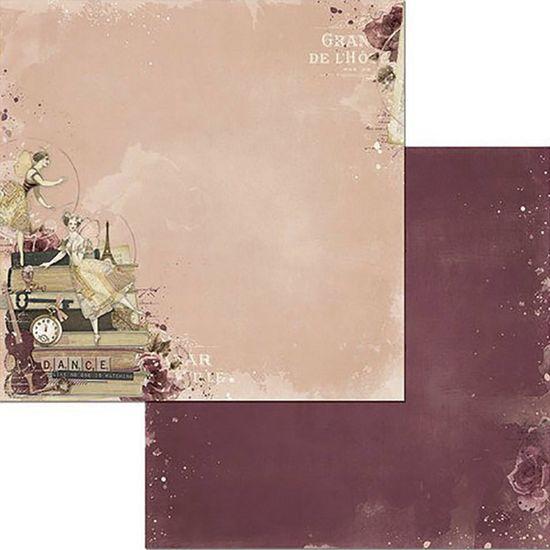 Papel Scrapbook WER116 30,5x30,5 Bo Bunny Encantado