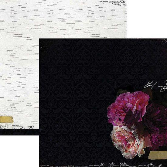 Papel Scrapbook WER153 30,5x30,5 Heidi Swapp Meia Noite