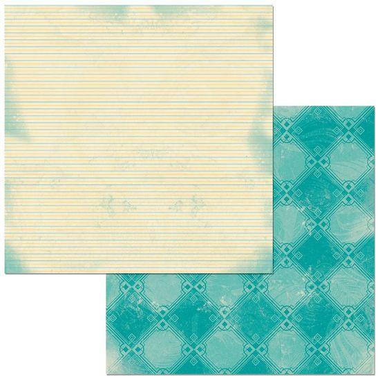 Papel Scrapbook WER326 30,5x30,5 Bo Bunny Listras