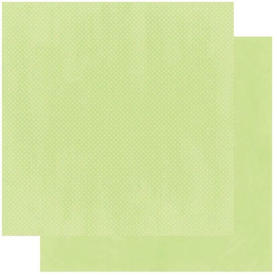 Papel Scrapbook WER236 30,5x30,5 Bo Bunny Verde Mata