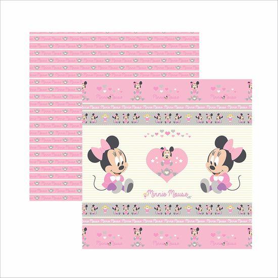 Papel ScrapFesta Disney Baby Minnie Fitas e Rótulos SDFD023 - Toke e Crie