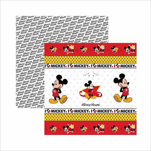 Papel Scrapfesta Disney Mickey Mouse Fitas e Rótulos Sdfd013 - Toke e Crie