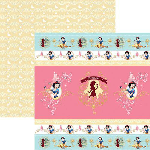 Papel Scrapfesta Disney Princesa Branca de Neve Fitas e Rótulos Sdfd077 - Toke e Crie