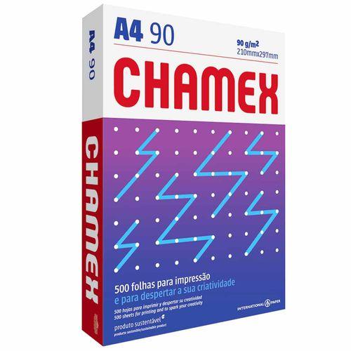 Papel Sulfite A4 90g Chamex Super 500 Folhas 132458