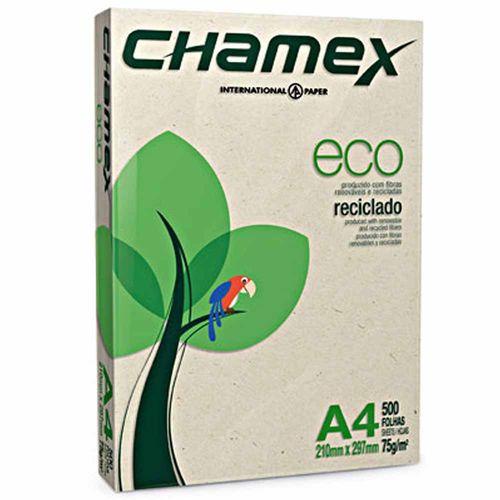 Papel Sulfite A4 Chamex Eco 500 Folhas 994890