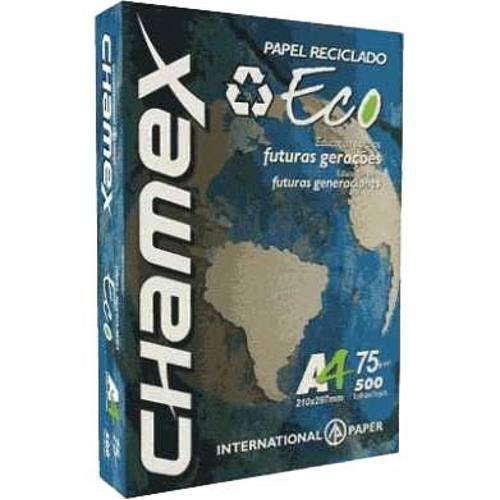 Papel Sulfite A4 Chamex Eco 500folhas