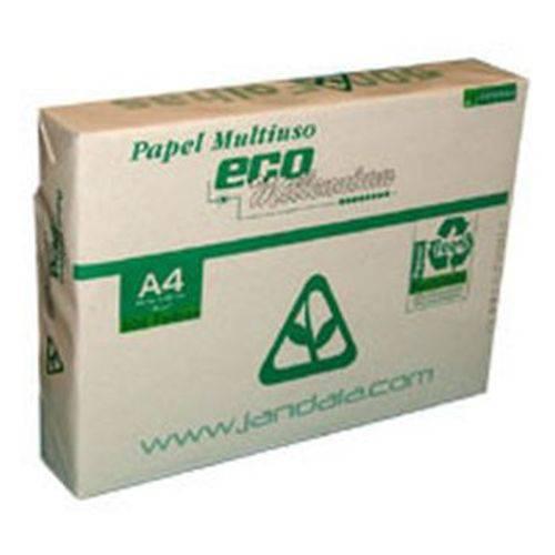 Papel Sulfite A4 Reciclado Eco Millennium 75g 500fls. Jandaia Pacote