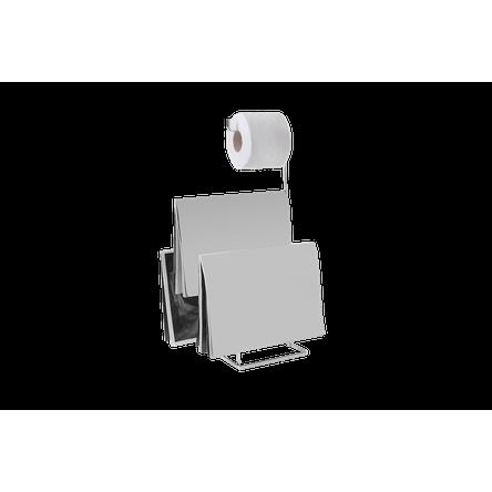 Papeleira com Revisteiro - Piazza 16 X 18,5 X 50 Cm