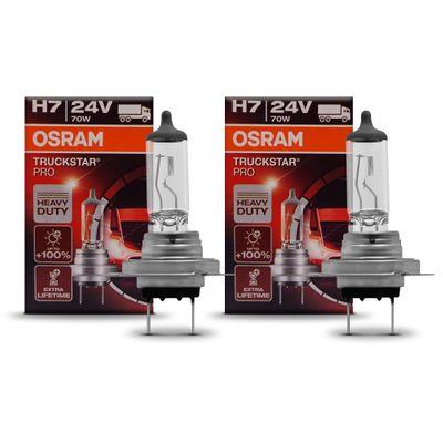 Par Lâmpada H7 Osram Truckstar Pro 24v 70w