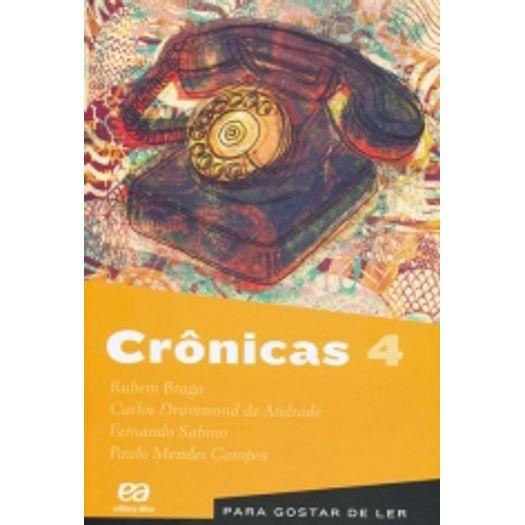 Para Gostar de Ler Vol 04 - Crônicas 04